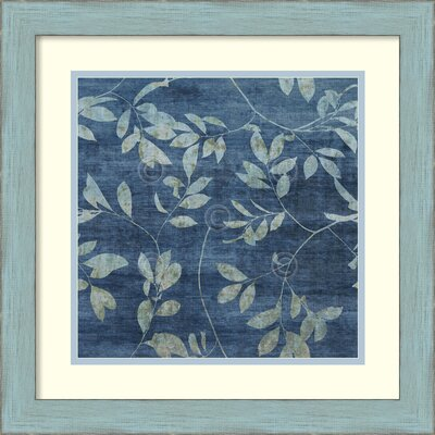 Denim Branches I Framed Painting Print