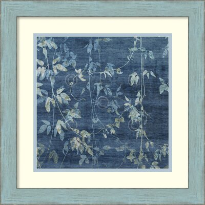 Denim Branches II Framed Painting Print