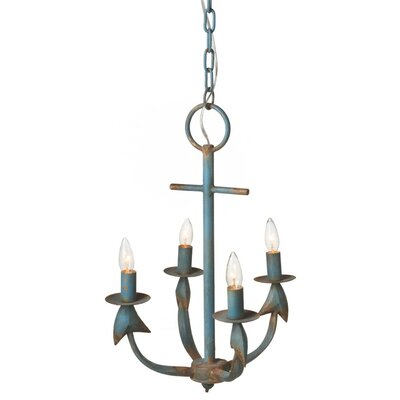 Cheverny 4-Light Candle-Style Chandelier
