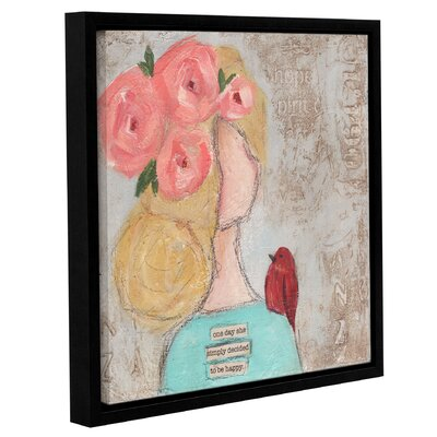One Day She II Framed Painting Print