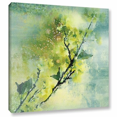 Spring Green Color Palette Painting Print on Wrapped Canvas Size: 14