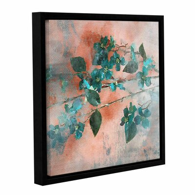 Blue Bunch Framed Painting Print on Wrapped Canvas