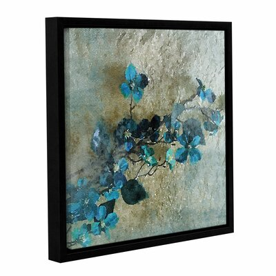 Blue Bunch Framed Painting Print on Wrapped Canvas Size: 14