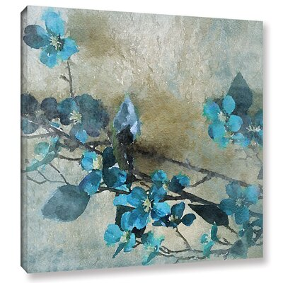 Blue Bunch Painting Print on Wrapped Canvas