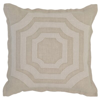 Lacordaire Linen Throw Pillow Color: Natural