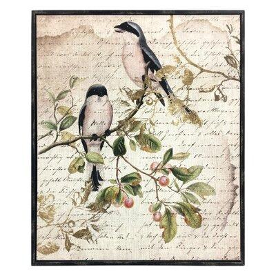 Sing Like Birds Framed Graphic Art