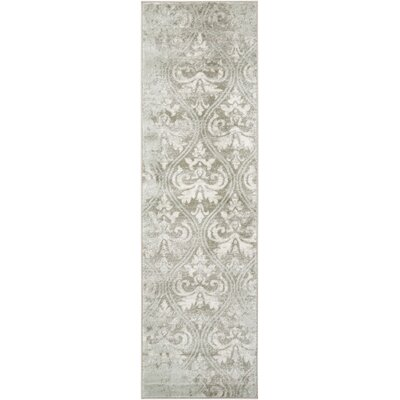 Angelique Neutral Gray Area Rug Rug Size: Runner 22 x 76