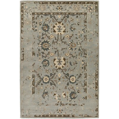 Ivan Hand-Tufted Medium Gray Area Rug Rug size: Rectangle 6 x 9