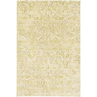 Florac Lime Green Area Rug Rug Size: Rectangle 51 x 76