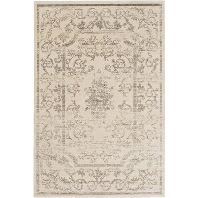 Florac Neutral Area Rug Rug Size: Rectangle 51 x 76