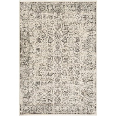 Florac Neutral/Gray Area Rug Rug Size: Rectangle 78 x 11