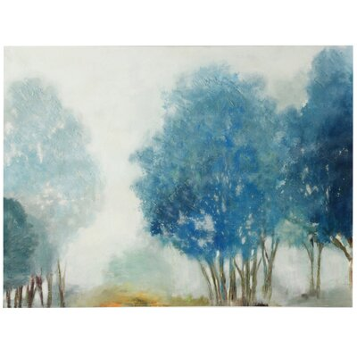 'Hazy Days' Painting Print on Canvas