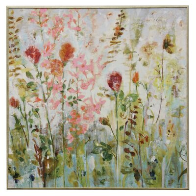 'Spring Medley' Framed Painting Print