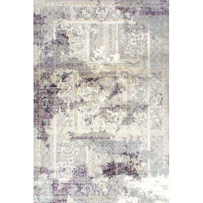 Fontaines Gray Area Rug Rug Size: 4 x 6