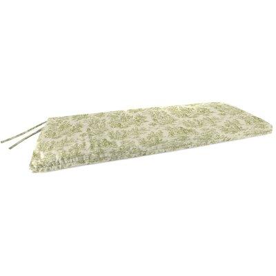 Indoor Bench Cushion Fabric: Charmed Life Tarragon