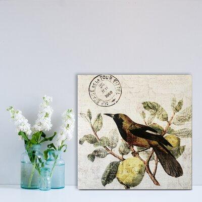 Bird in the Tree Graphic Art
