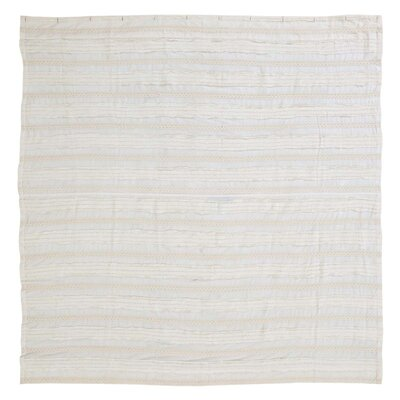 Willandra 100% Cotton Shower Curtain Color: Creme