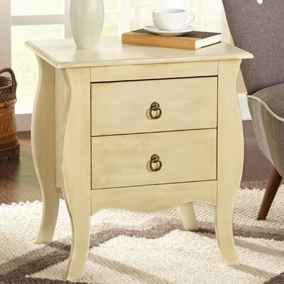 Antonne 2 Drawer End Table