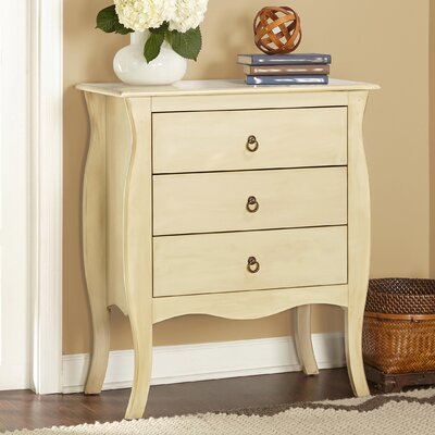 Antonne 3 Drawer End Table