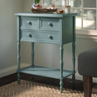 Pantin 3 Drawer End Table