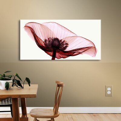 Anemone I Graphic Art on Wrapped Canvas