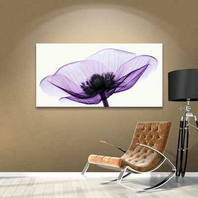 Anemone II Graphic Art on Wrapped Canvas