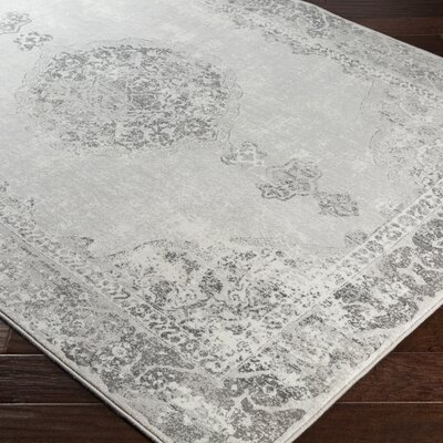 Jayson Gray Area Rug Rug Size: Rectangle 53 x 76