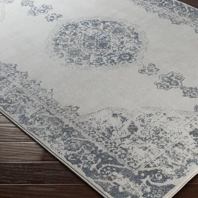 Jayson Beige/Gray Area Rug Rug Size: Rectangle 53 x 76