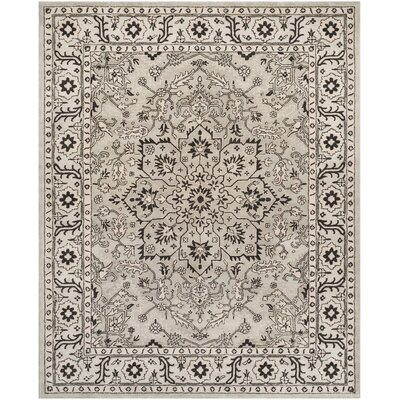 Albert Brook Hand-Tufted Gray/Beige Area Rug COLOR: Grey / Beige, Rug Size: 2' x 3'