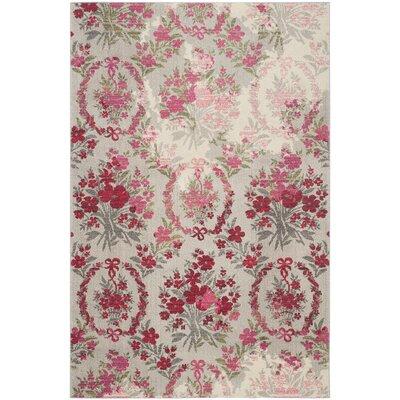 Fabius Ivory/Pink Area Rug