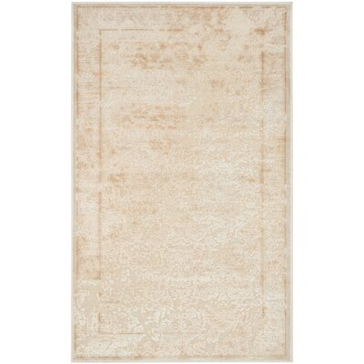 Ellicott White Area Rug Rug Size: Rectangle 27 x 4