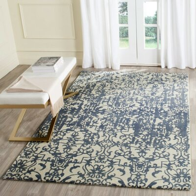 Ellicottville Oriental Hand-Tufted Area Rug Rug Size: Rectangle 5 x 8