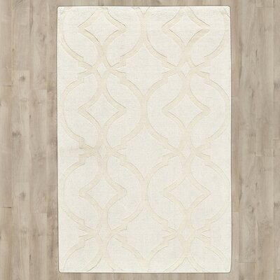 Frejus Hand-Loomed Shell Indoor/Outdoor Area Rug Rug Size: 5 x 8