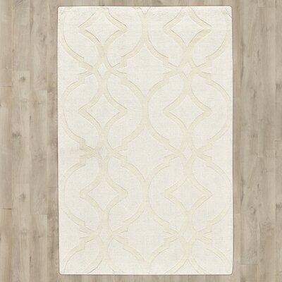 Frejus Hand-Loomed Shell Indoor/Outdoor Area Rug Rug Size: 36 x 56