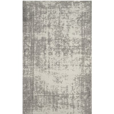 Fallsburg Gray Area Rug Rug Size: Rectangle 8 x 10