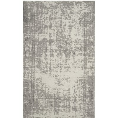 Fallsburg Gray Area Rug Rug Size: Rectangle 3 x 5