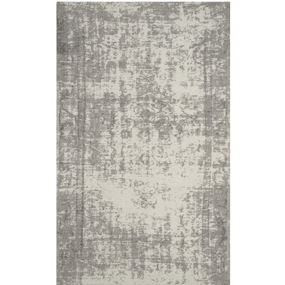 Fallsburg Gray Area Rug Rug Size: Rectangle 4 x 6
