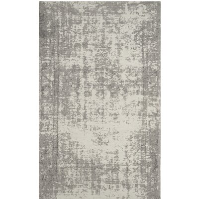 Fallsburg Gray Area Rug Rug Size: Rectangle 5 x 8