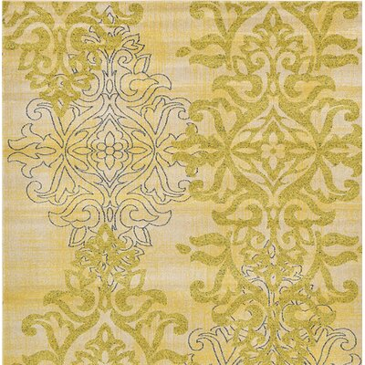 Avignon Yellow Area Rug