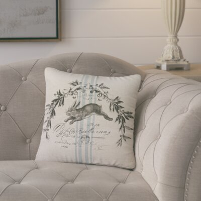 Colette French Farmhouse Throw Pillow Size: 16 H x 16 W x 6 D