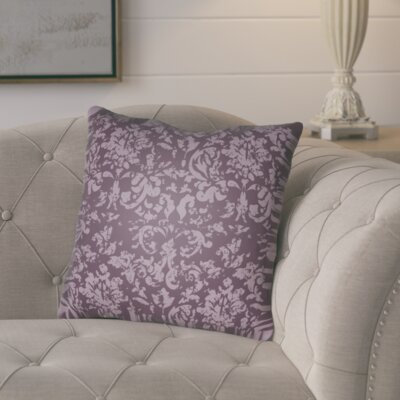 Chapelle Throw Pillow Size: 20 H x 20 W x 4 D, Color: Purple