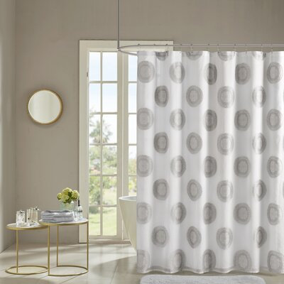 Liesse Shower Curtain Color: Gray