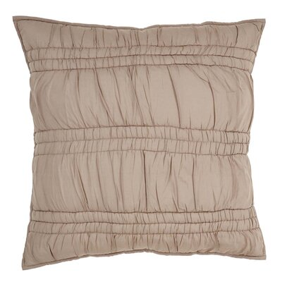 Claude Euro Sham Color: Warm Taupe