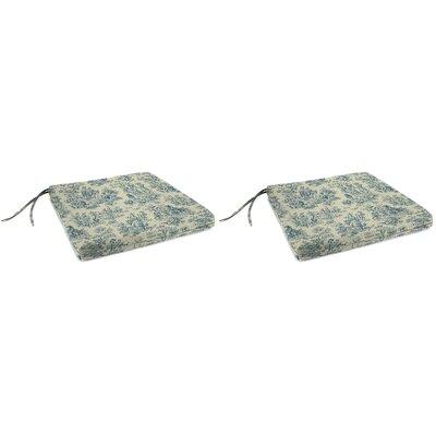 Indoor Chair Cushion Fabric: Charmed Life Cornflower