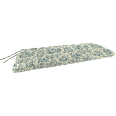 Indoor Bench Cushion Fabric: Charmed Life Cornflower