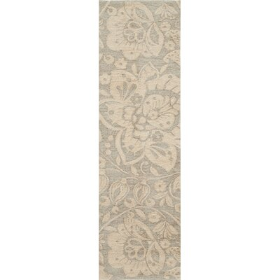 Lettie Hand-Tufted�Sand Area Rug Rug Size: Runner 23 x 8