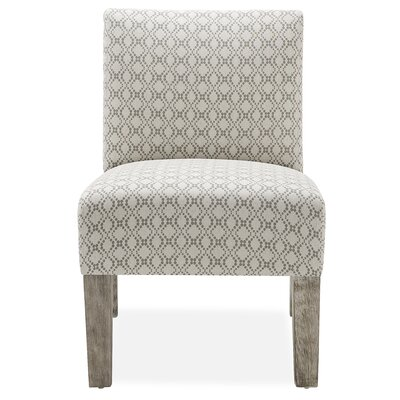 Jemima Slipper Chair Upholstery: Grey Dot Matrix