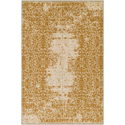 Cassie Beige/Brown Area Rug Rug Size: Rectangle 5 x 8