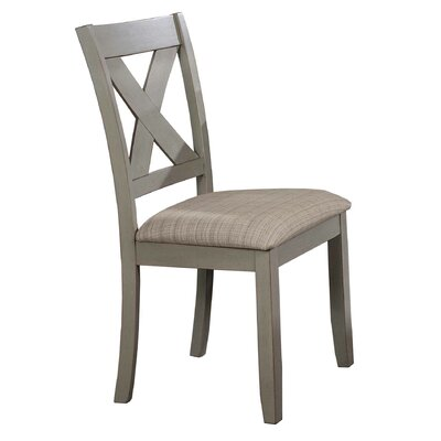 Lia Side Chair (Set of 2) Finish: Sage Gray Green