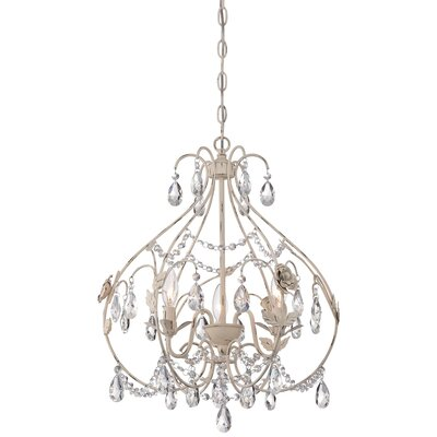 Aldan 3-Light Foyer Pendant
